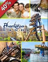 Ticket voor Phantasialand  + gratis ticket voor volgend bezoek voor €27 @ SocialDeal