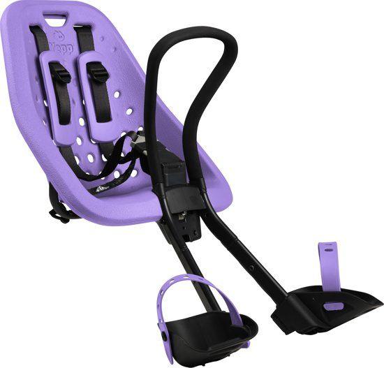 GMG Yepp Mini Fietsstoeltje Voor - Paars