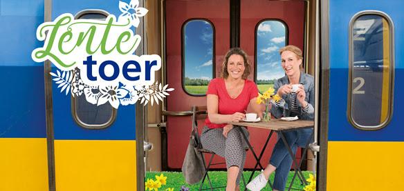 NS Lentetoer Samen lekker op stap (met de trein weg). Vanaf €14,50 p.p. @ NS