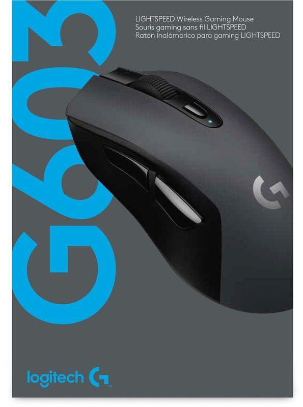 Logitech G603 wireless gaming muis @Amazon.de (elders €65)