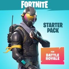 Fortnite Starter Pack Skin+Tas+600VBucks voor 5 euro