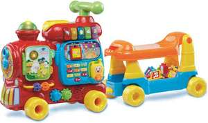 [update] VTech Baby 5 in 1 Letter Locomotief - Activity-center €54,95 @bol.com