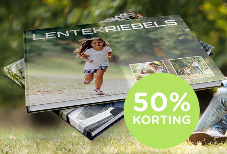 Fotoboek L (vierkant / rechthoekig) 50% korting = €12,47 / €14,94 @ Webprint