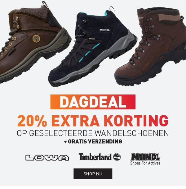 Vandaag: 20% extra korting op diverse wandelschoenen + gratis verzending @ Perry Sport