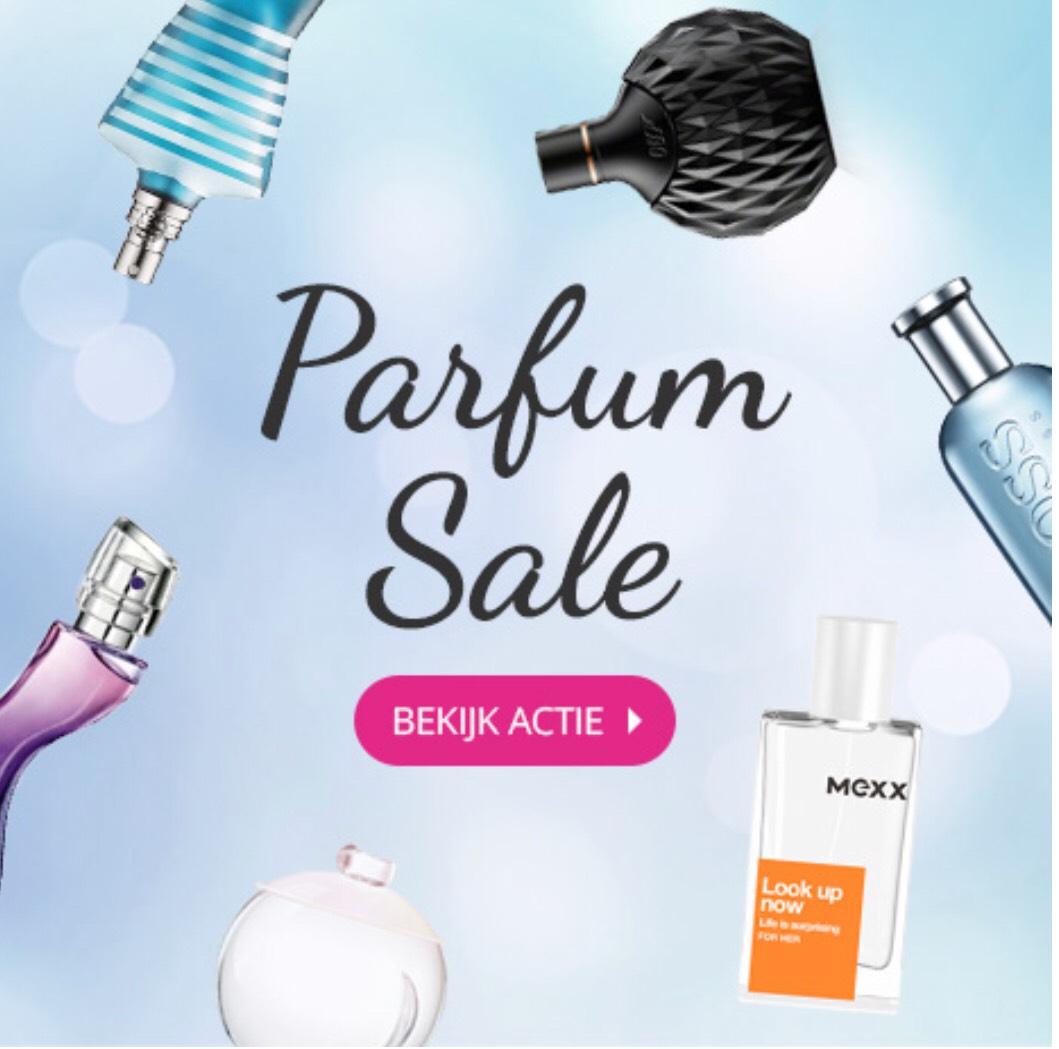 Parfum SALE tot wel 83% korting @Drogisterij.net