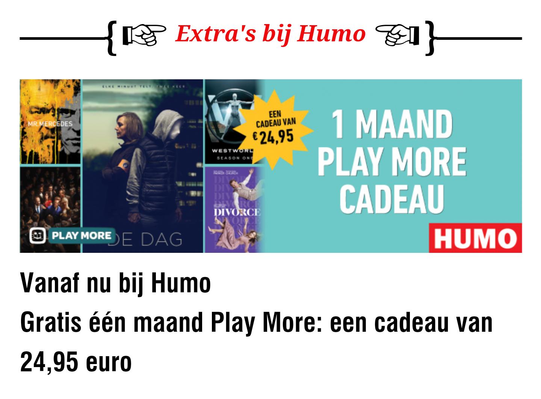 [BELGIË] 1 maand gratis play more (Telenet)