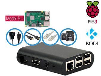 Raspberry Pi 3 Model B+ met Accessoires