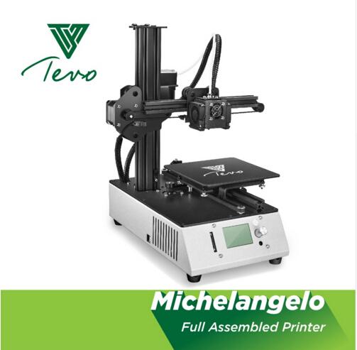 TEVO Michelangelo kant en klare 3D printer voor €194,77. Verzending vanuit Duitsland.