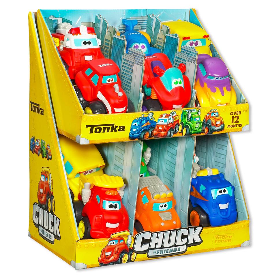 Chuck & Friends Wheels Pals Classic speelgoedauto's voor €1,99 @ Blokker
