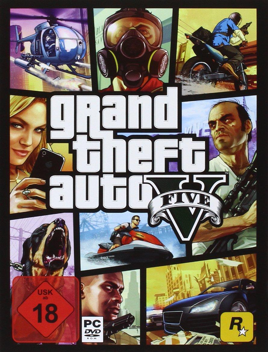 Grand Theft Auto V (PC Disc) voor €13 @ Amazon.de