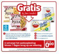 Gratis Dr. Oetker pizza en Amstel Radler Fris 0,0% @ Jan Linders