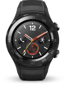 Huawei Watch 2 (4G) in zwart, €249,90 @ Amazon.it