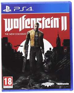 Wolfenstein 2: The New Colossus (PS4) voor €15,11 @ Amazon.fr