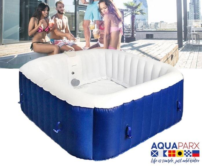 AquaParx Opblaasbare Jacuzzi €299 @ Groupdeal