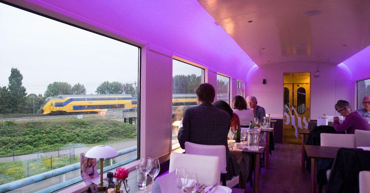 Dinner Train Amsterdam (2e persoon gratis)