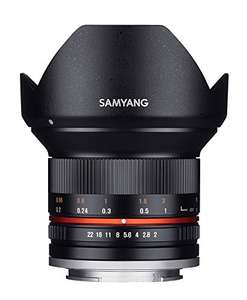 Samyang 12mm f/2.0 NCS CS Sony E Zwart voor €263,55 @ Amazon.fr