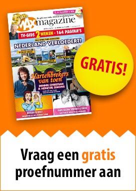 GRATIS proefnummmer MAX magazine (geen abo of verplichtingen)