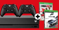 [GRENSDEAL] Xbox One X 1TB + extra controller + Forza Motorsport 7 + NBA 2K18 voor €415 @ MediaMarkt.de