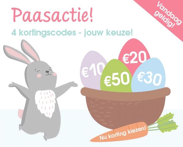 Alleen vandaag: tot €50 extra paaskorting @ Pinkorblue