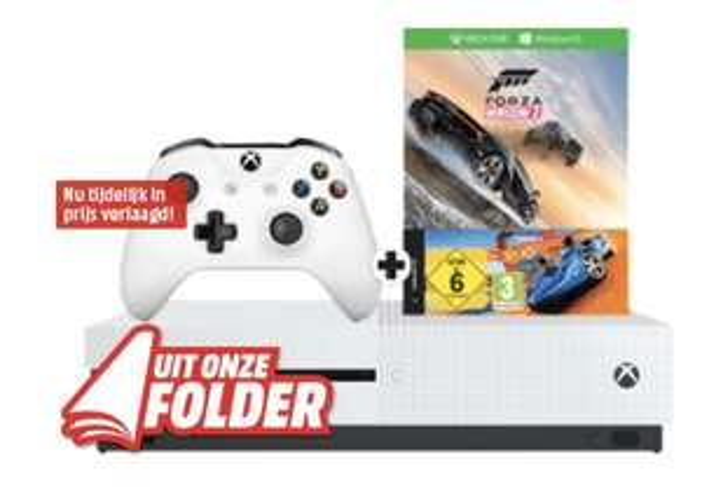 Xbox One S 500 GB + Forza Horizon 3 en Hot Wheels