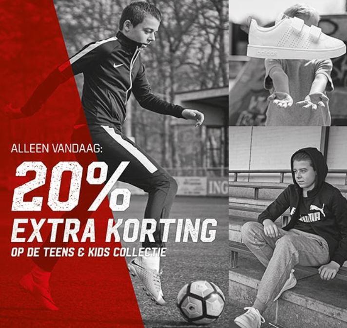 Kids Day: 20% (extra) korting op de kids collectie @ Aktiesport