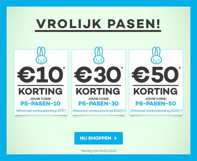 Kortingscodes van €10, €30 of €50 korting @ Planet Sports