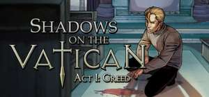 Gratis game Shadows on the Vatican - Act I: Greed (Steam) @ IndieGala