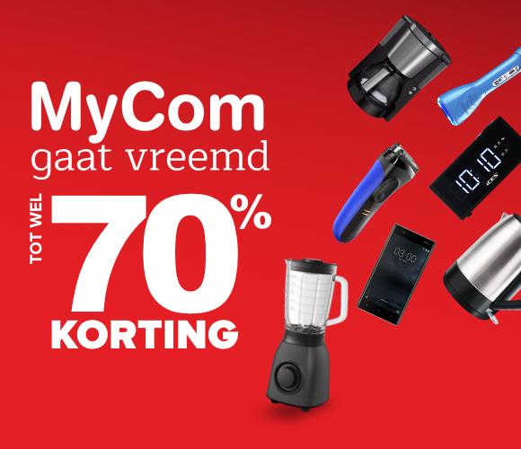 Mycom gaat vreemd, kortingen tot wel 70%!