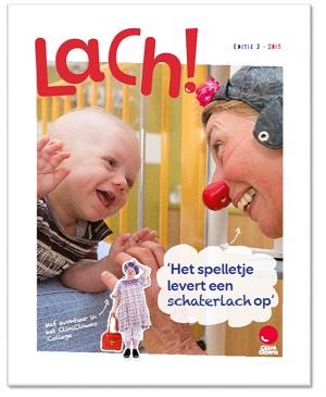 GRATIS proefnummer 'Lach' Magazine