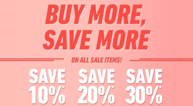 Actie: 10-30% extra korting op sale (va 2 items) @ Forever21