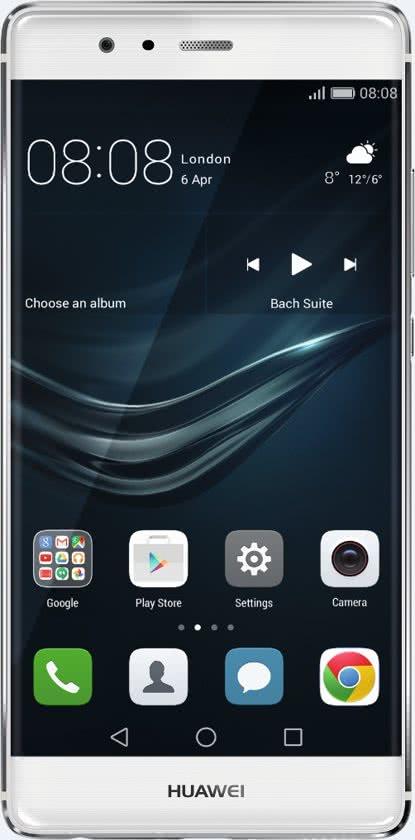 Huawei P9 silver 32GB voor €279 @ Bol.com