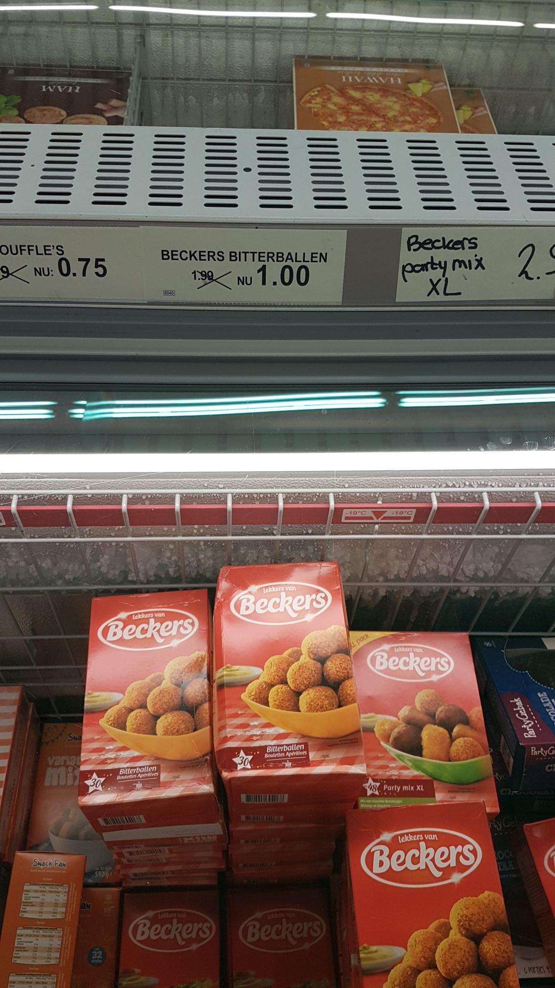 Beckers Bitterballen €1 @ Aldi (Lelystad)