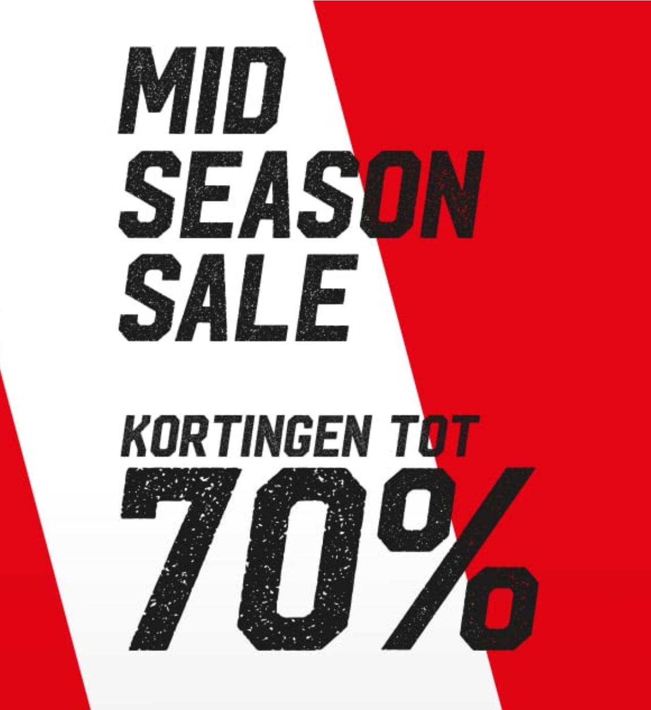 Mid season sale kortingen tot 70% @Aktiesport
