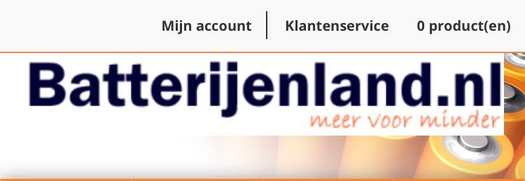 Gratis batterijen bij Batterijenland.nl