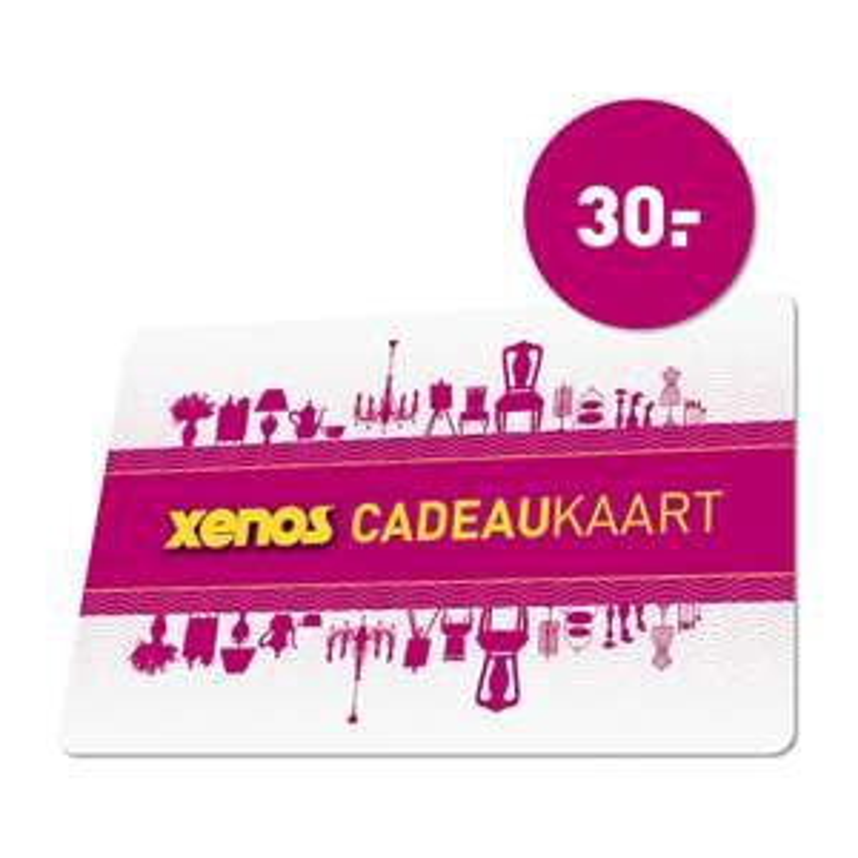 Cadeaukaart t.w.v. €30 voor €22,50 na code @ Xenos