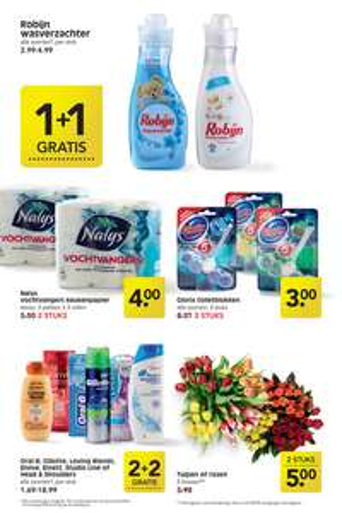 2 flessen Palmolive douche creme voor 1 euro vanaf donderdag!