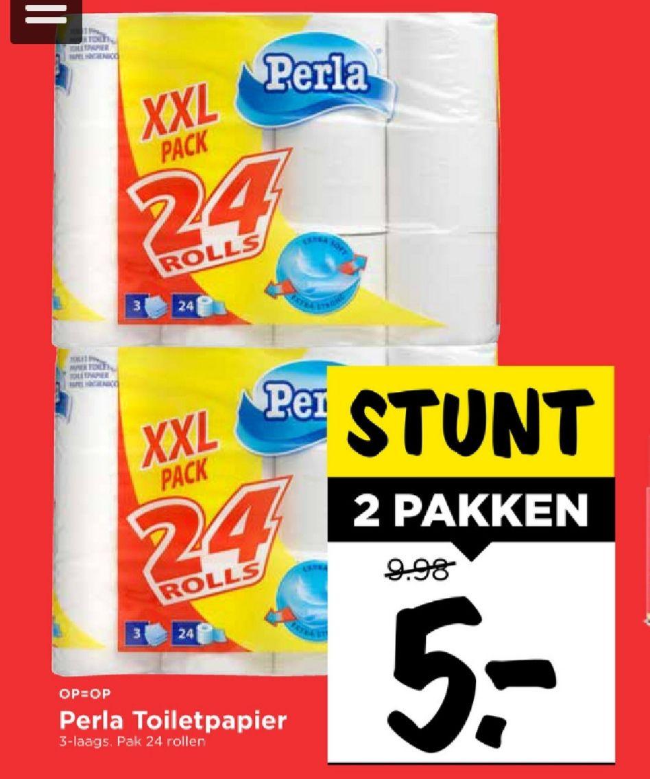 48 toiletrollen 3-laags slechts € 5 euro @ vomar