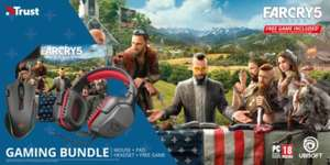 Trust Gaming Bundel - Headset, Muis en Muismat inclusief Far Cry 5 (PC) Voucher