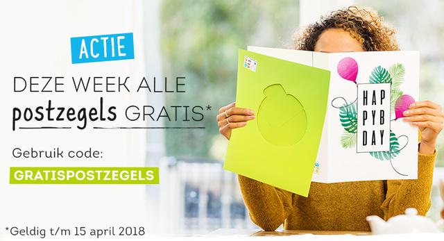 GREETZ gratis postzegel bij verzenden kaartje (t/m 15 april)