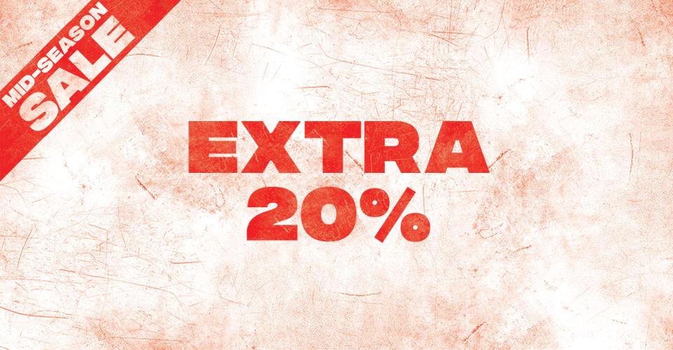 20% EXTRA korting op de SALE @ PUMA