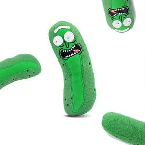 Pickle Rick knuffel (Rick & Morty) voor €0,93 @  TomTop