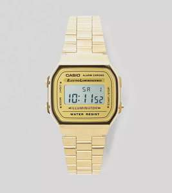 Casio A168 Classic horloge voor €12 @ size?