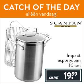 Scanpan Impact aspergepan voor €24,98 @ Cook and Co