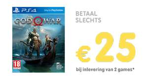 Inruilactie: God of War vanaf €25 @ Gamemania