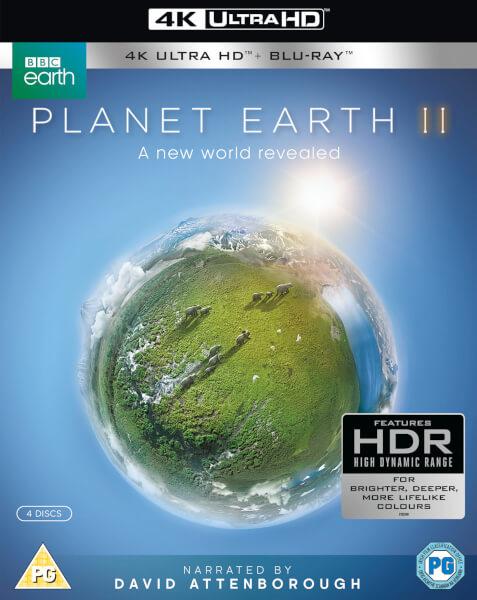 Planet Earth II 4K UHD Blu-ray @ Zavvi & Shop4NL
