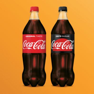 [VR-ZA-ZO] Coca-cola of Coca-cola Zero 1L @ Aldi