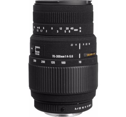 Sigma 70-300mm f/4.0-5.6 DG AF Pentax Macro Zoomlens voor €99 @ Coolblue
