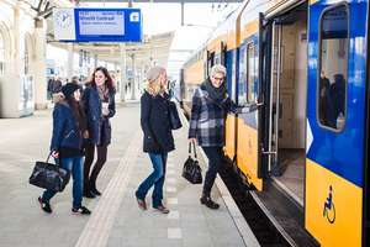 2 NS-treinkaartjes (2 x enkele reis) voor €24,00