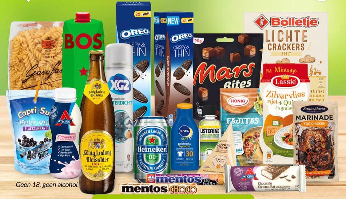 20-delig boodschappenpakket: t.w.v €31,69 voor €13,90 @Scoupy