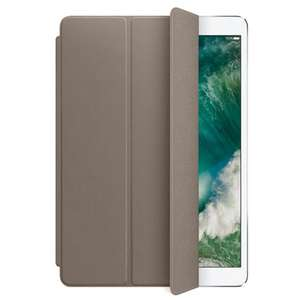 Apple Leather Smart Cover Taupe iPad Pro 2017 10.5 @ Belsimpel